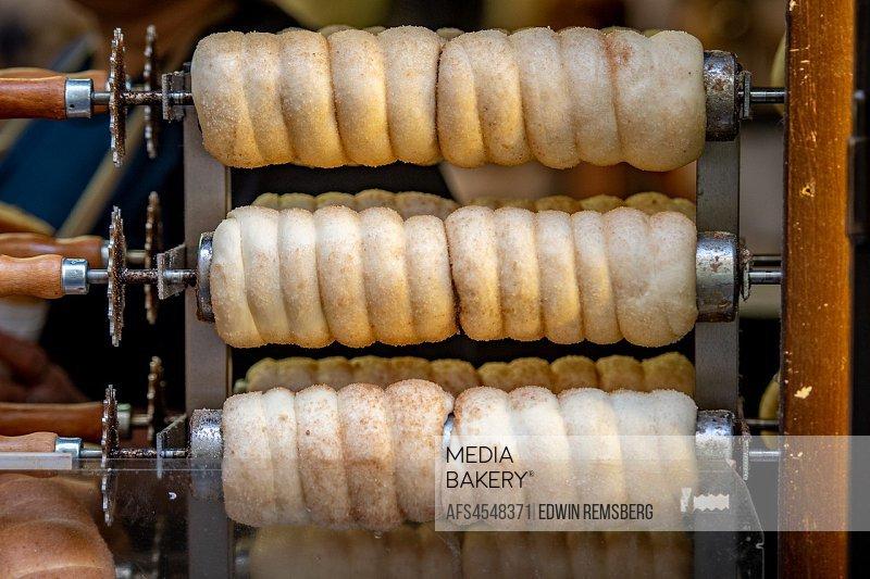 Fresh baked goods in Prague - Czech Republic.