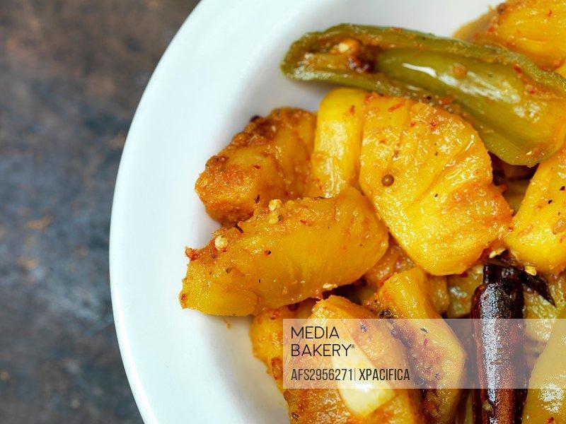 Traditional Malaysian dish