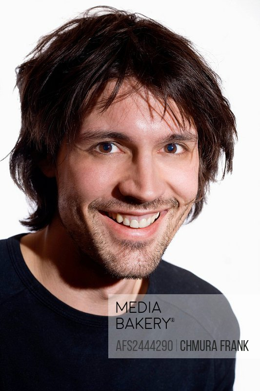 Young Man, 20_30 years, 25_30 years, Adult, Adults, Caucasian, Caucasians, Communication, Contemporary, dark hairs, Fa