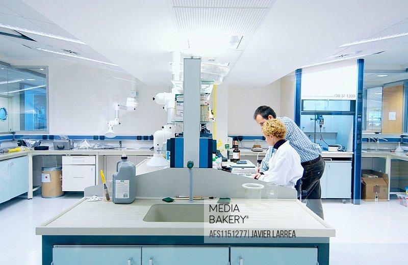 Chemical characterization laboratory, adhesives