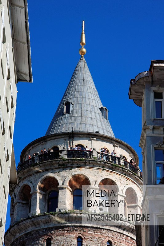 Istanbul, Turkey, Galata, tower, rook, facades, travel, tourism, round, traveling, tourism,