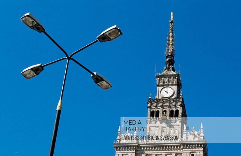 Palace of Culture and Science. Warsaw. Poland.