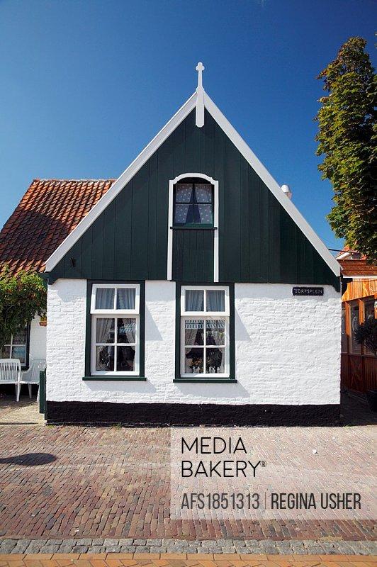 Traditional House, De Koog, Texel Island, Holland