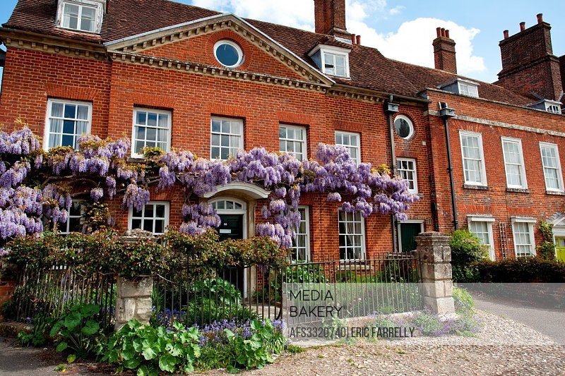 Mompesson House at Chorister´s Green in Salisbury Wiltshire England UK.