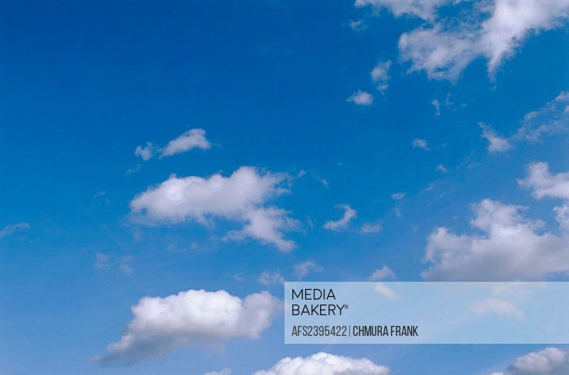 Blue, Sky, White, Clouds, Air, Atmosphere, Background, Backgrounds, Blue, Blue, sky, Calm, Calmness, Cloud, Clouds, Co