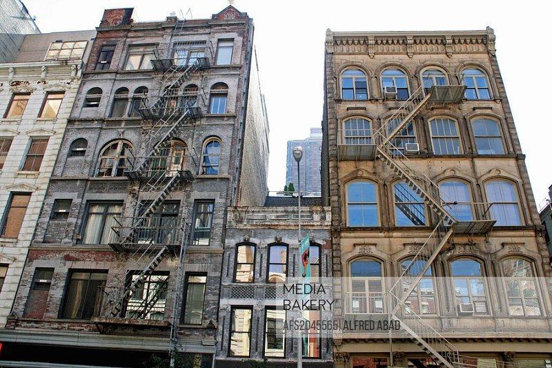 housing, Soho, New York, USA.