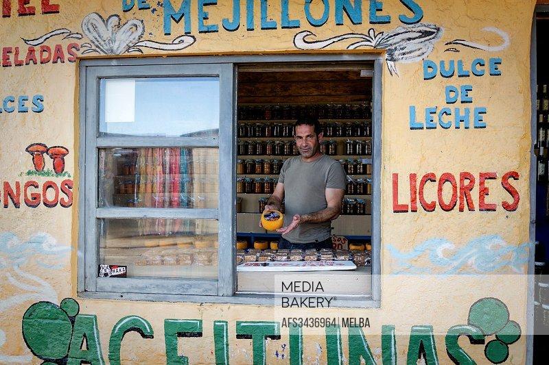 Grocer´s shop in Punta del Diablo. Uruguay.
