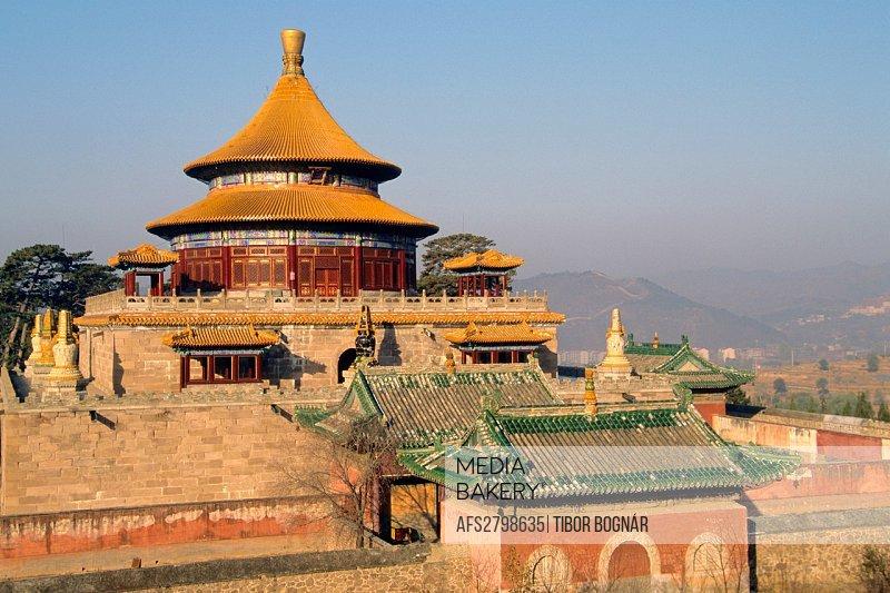 China Hebei Chengde Universal Happiness Temple