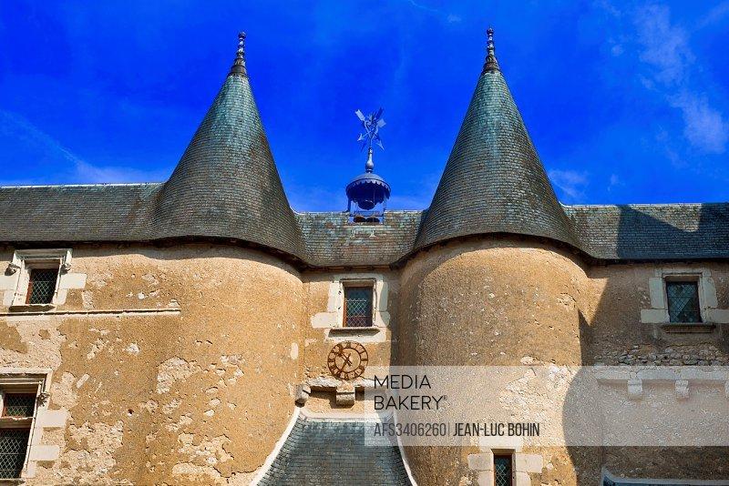 france,41, loire castles : fougères-sur-bièvres castle.