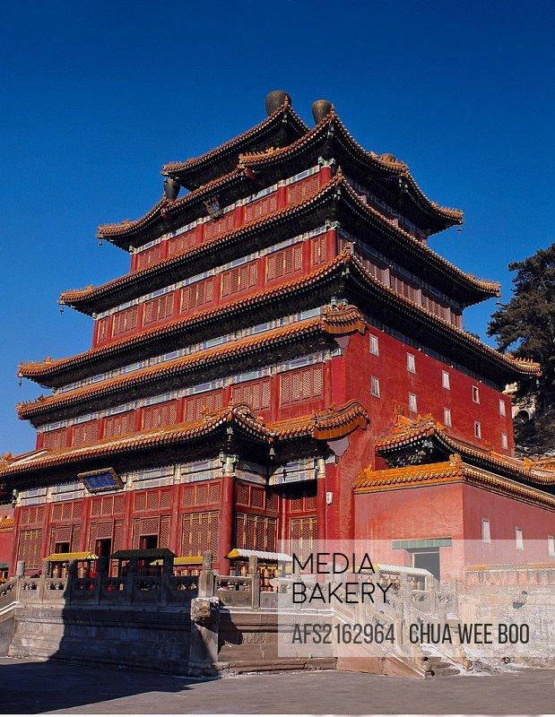 The Mahayana Temple, Chengde, China.