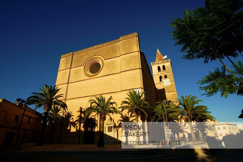 Parish Church of Our Lady of the Consolació, XVII-XVIII century, Porreres, Es Pla Mallorca, Balearic Islands, Spain