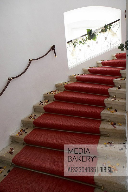 stairs in castle