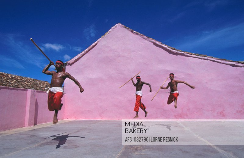 Afro-Cuban dancers. Trinidad. Cuba