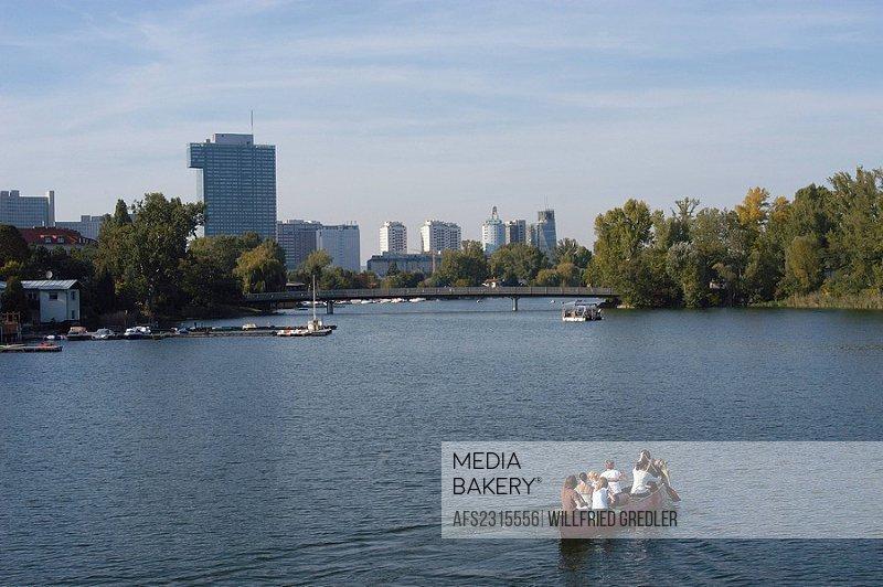 Old Danube in Vienna
