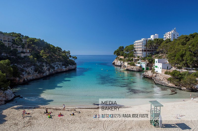 Cala d'Or, Mallorca, Balearics, architecture, bay, beach, blue, ferrara, island, manacor, Mediterranean, Spain, Europe, touristic, tourists, travel