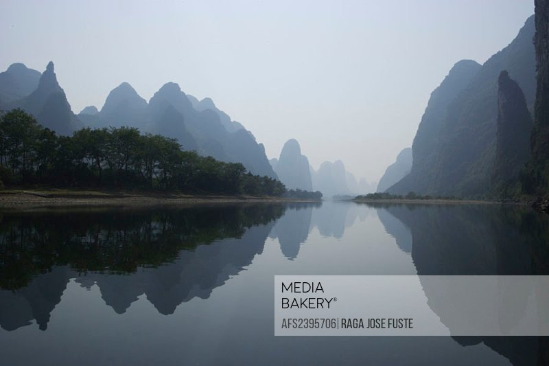 China, Asia, Guangxi province, Guilin town, city, Li river