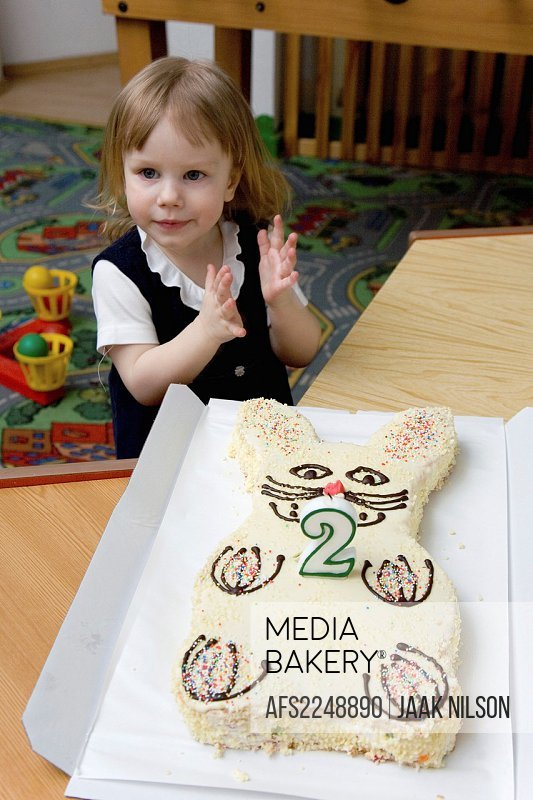 Mediabakery Photo By Age Fotostock Two Year Old Kid Girl With