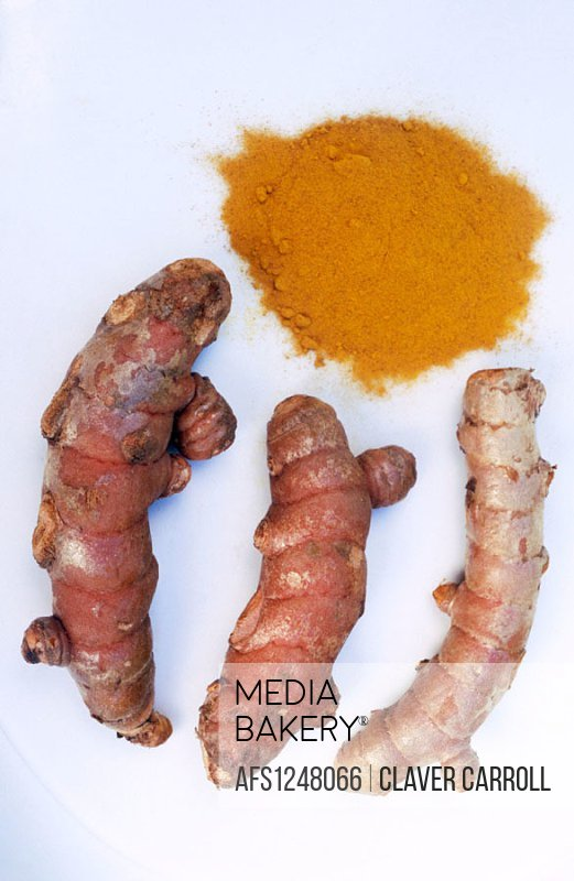 Turmeric NB. Curcumin found in turmeric has recently been found to slow prostate cancer and Alzheimers onset. Food, nutrition, additives.