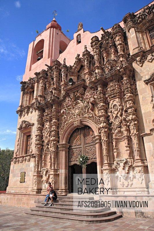 Sanctuary Senor de Villaseca 1789, Mineral de Cata, state Guanajuato, Mexico