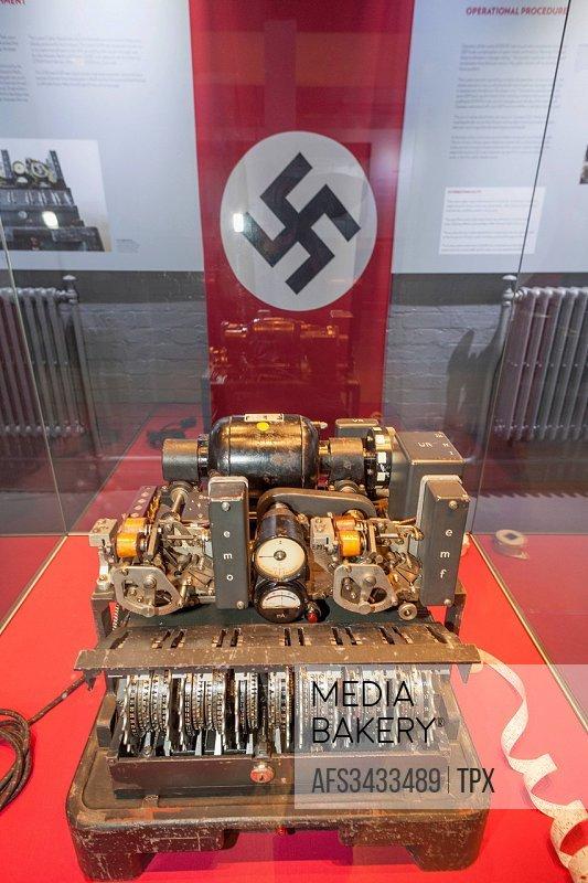 England, Buckinghamshire, Bletchley, Bletchley Park, WWII, war, world war ii, German Lorenz Cipher Machine, decipher, decode, decrypt,