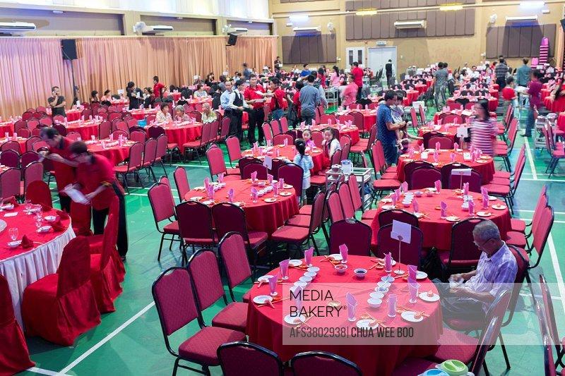 Sarawak Chai´s Clan Chinese New Year Party in Kuching, Malaysia.