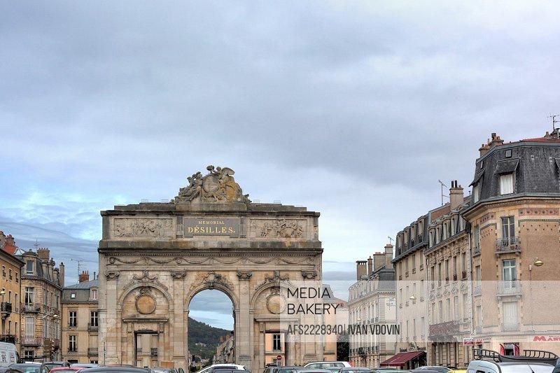 Porte Désilles 1784, Nancy, Meurthe-et-Moselle department, Lorraine, France