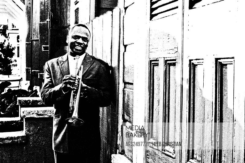 Leroy Jones, Musician, Neighborhood Treme, New Orleans, Louisiana, USA, United States, America, trumpet, Jazz