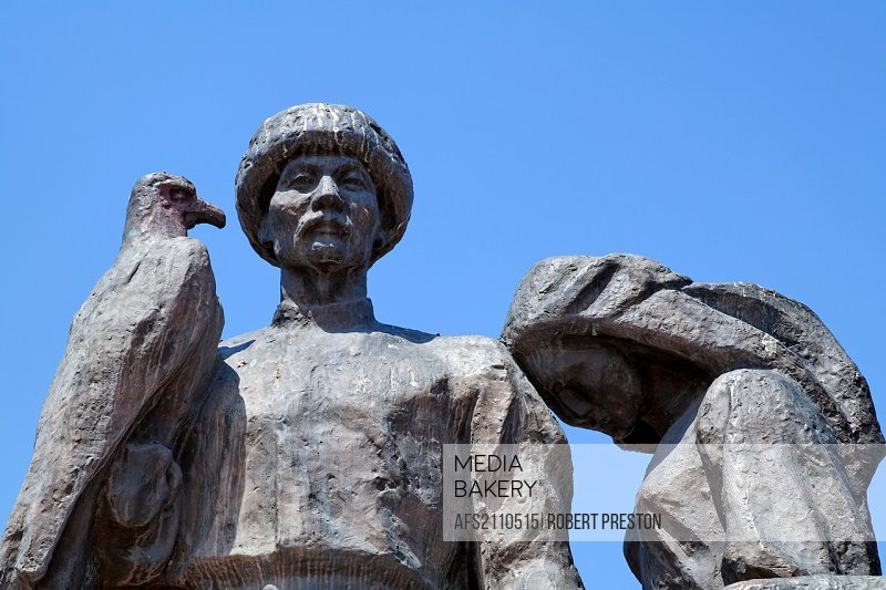 Monument to the Martyrs of the Revolution, Bishkek, Kyrgyzstan