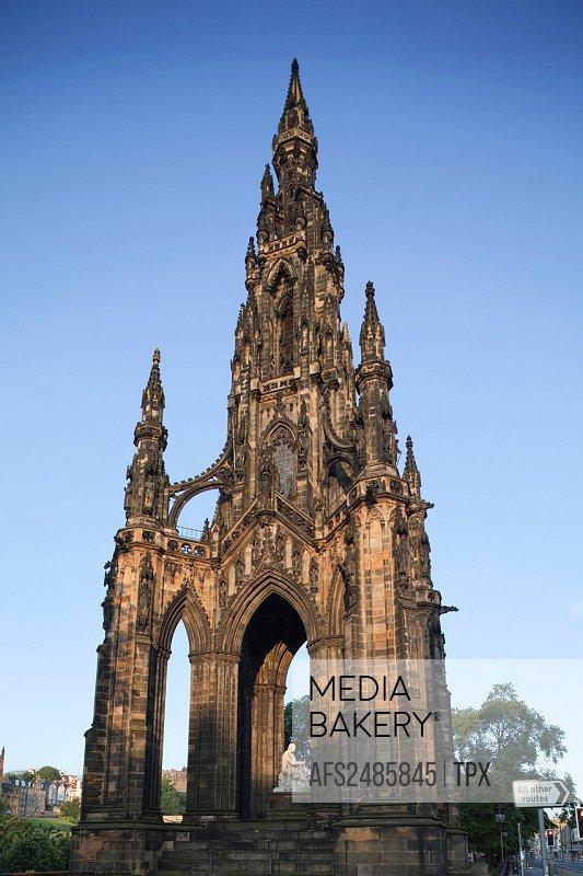 Scotland, Edinburgh, Scott Monument