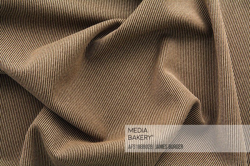 brown striped wool