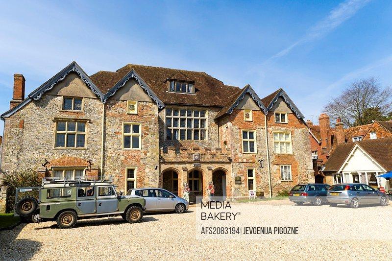 The Wardrobe, Military Museum, west Walk, Choristers Green, Salisbury Cathedral Close, Salisbury, Wiltshire, England, UK.