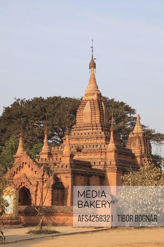 Myanmar, Burma, Bagan, temple,.