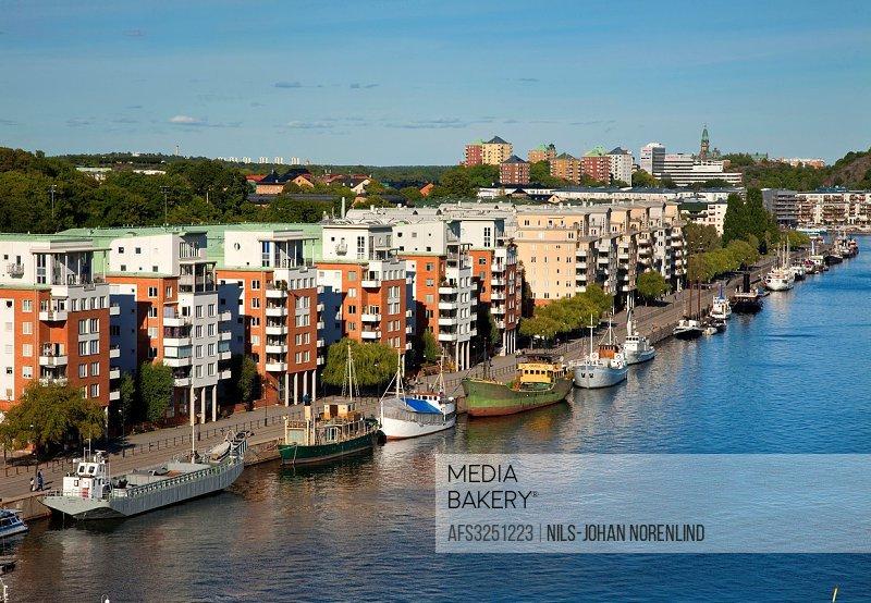 Residential, northern Hammarby harbor, Stockholm