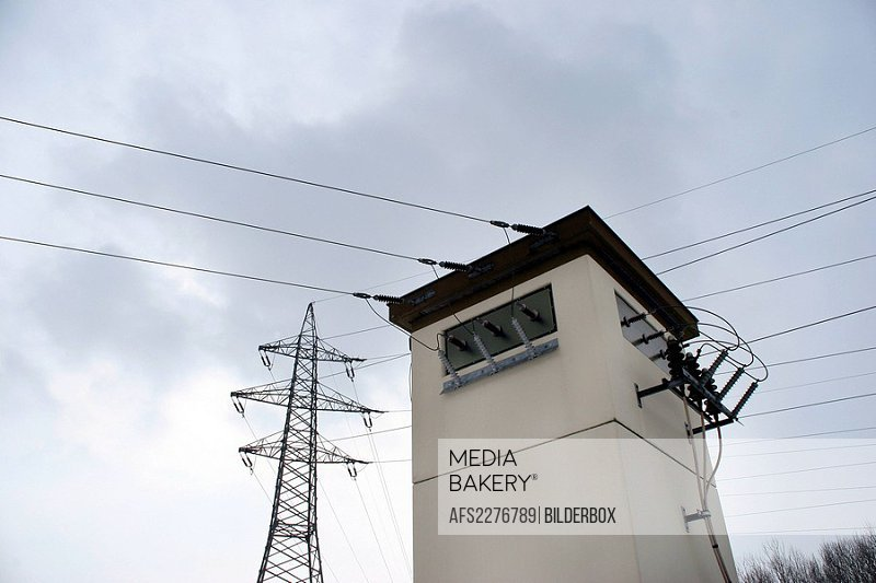 transformer station,electric power transformation substation