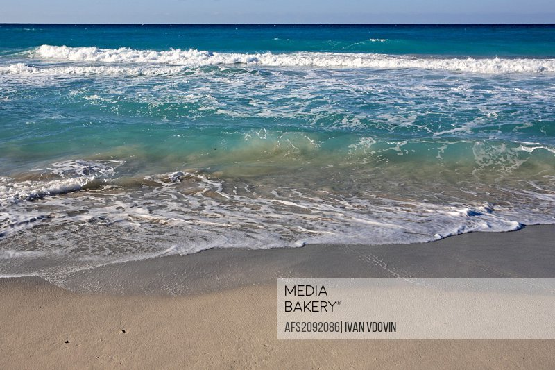 Sea beach, Varadero, province of Matanzas, Cuba