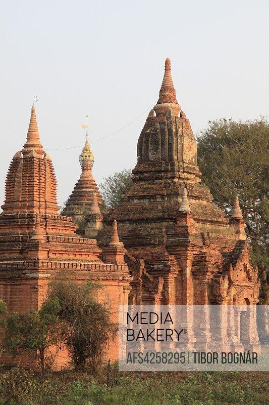 Myanmar, Burma, Bagan, Pitakat Temple,.