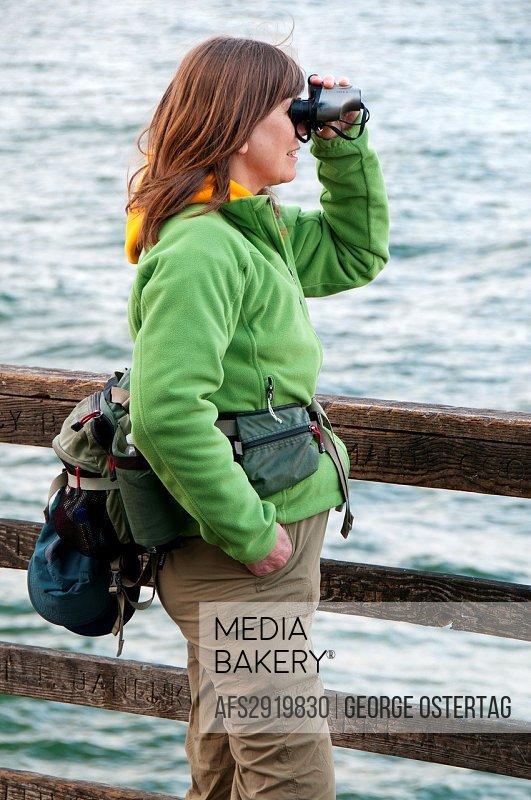 Viewing from Oceanside Pier, Oceanside, California