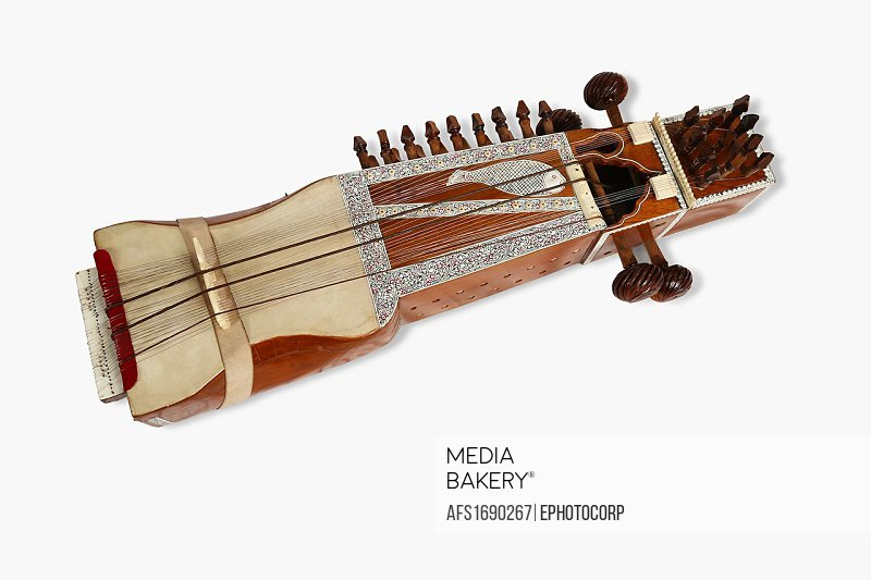 Sarangi, folk musical instrument of Rajasthan, India.