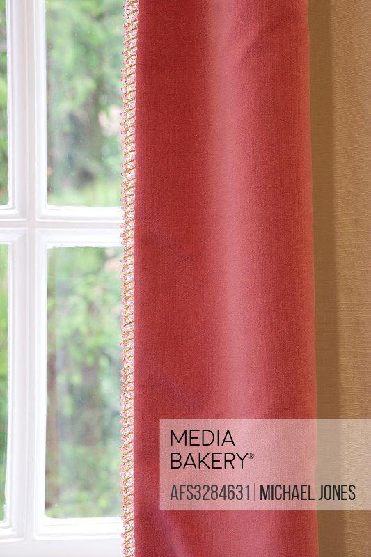 Curtain detail.