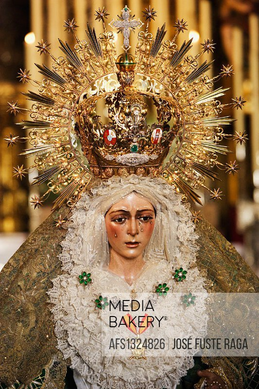 La Macarena (an aspect of the Virgin Mary), Sevilla. Andalusia, Spain