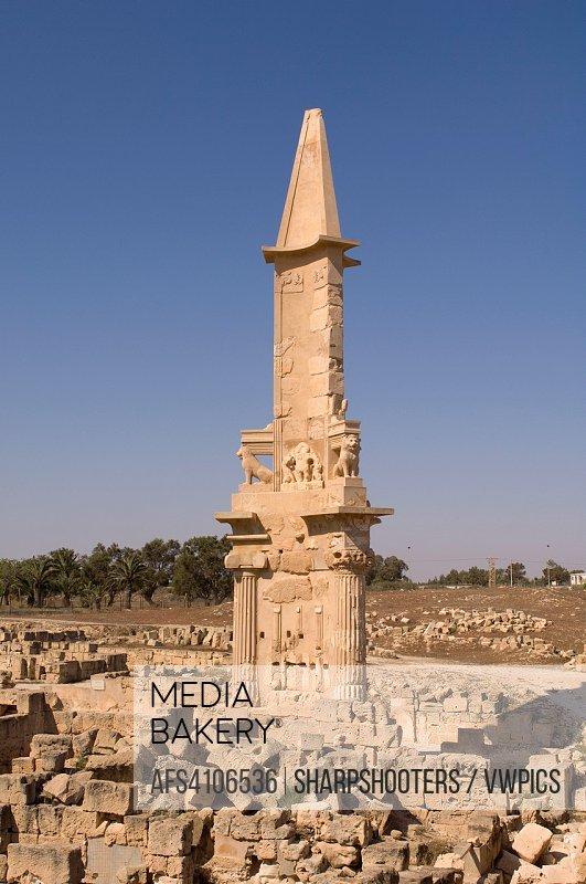 Sabratha Roman site, Tripolitania, Libya.