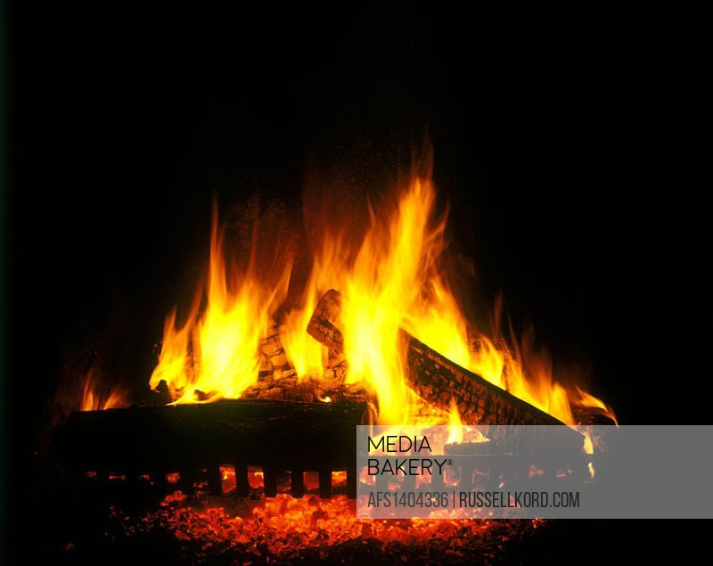 Domestic Fireplace.