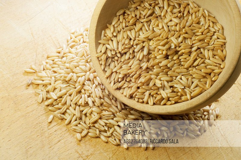 Oats Grain With Husks Removed