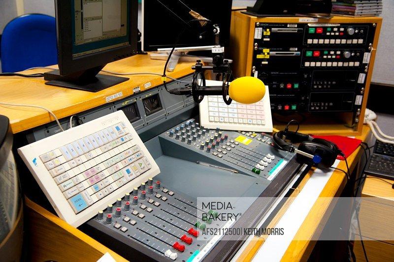 BBC Radio wales regional studio Aberystwyth UK