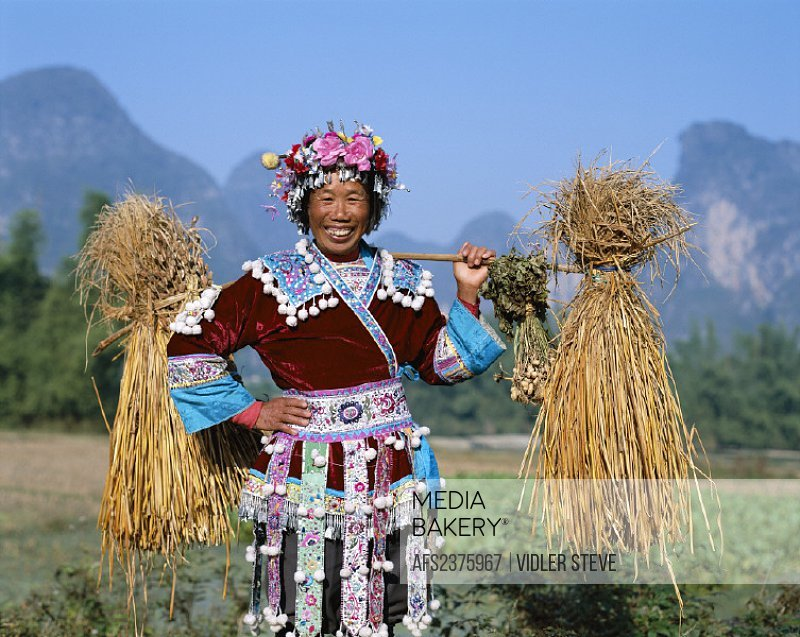 Asia, China, Costume, Ethnic, Farming, Guangxi, Guilin, Holiday, Landmark, Model, Province, Released, Tourism, Travel, Vacation,