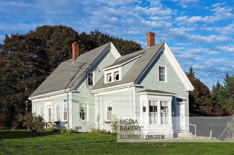 Charming house, Deer Isle, Maine, USA.