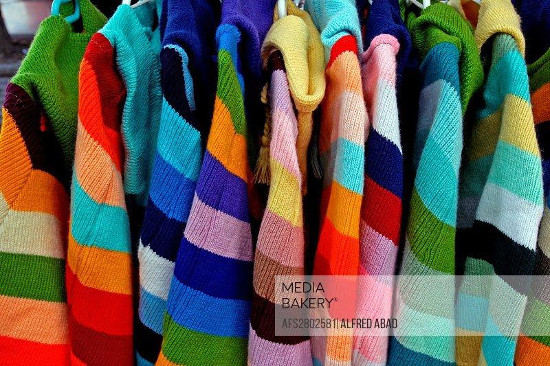 striped wool sweaters