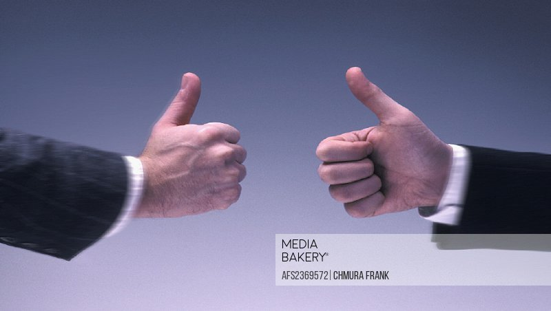 approval, Business, commercial world, gesture, positively, studio, symbol, thumbs on top, two hands