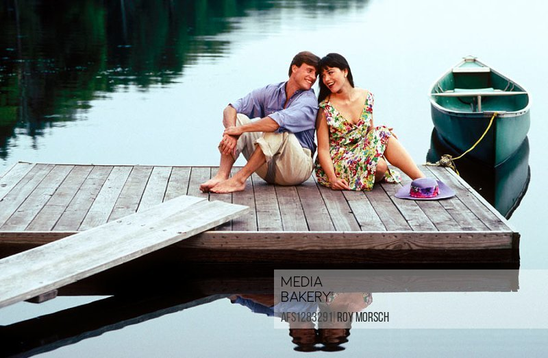 a little romance on the dock