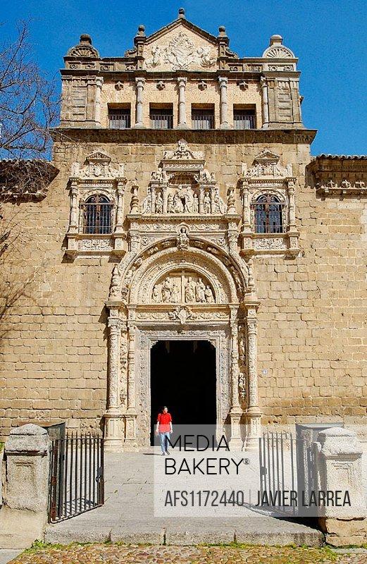 Museo De Santa Cruz.Mediabakery Photo By Age Fotostock Museo De Santa Cruz Founded